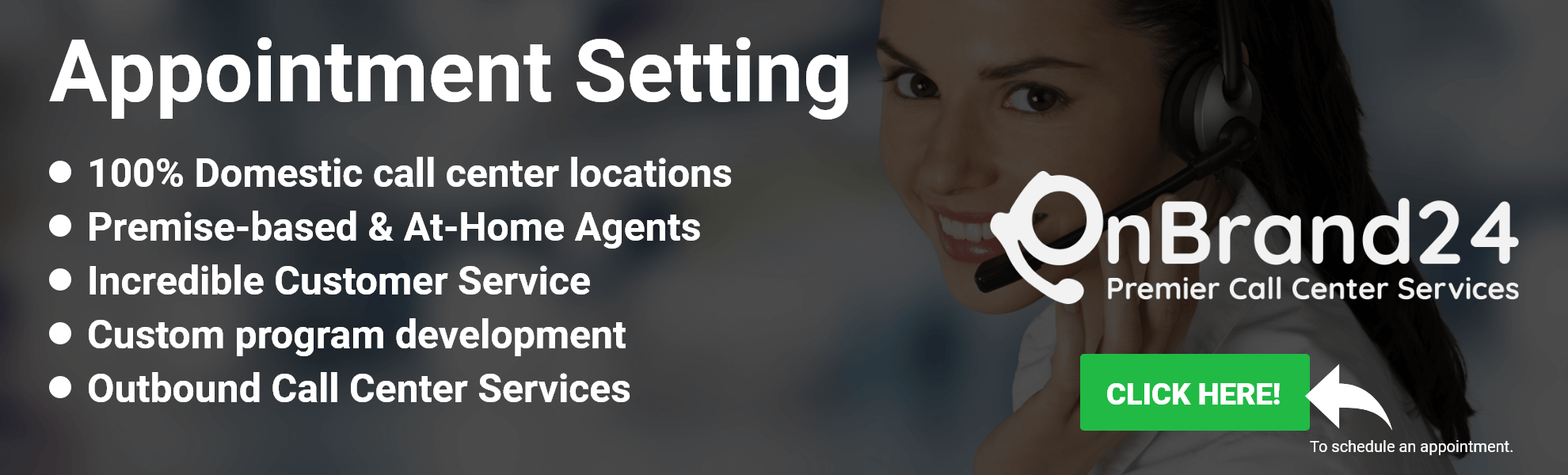 Appointment Setting Call Center Service